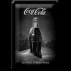 Coca-Cola Snow Black Bottle