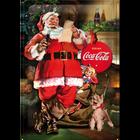 Coca-Cola Classic Santa Collage