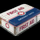 First Aid Emergency Blue